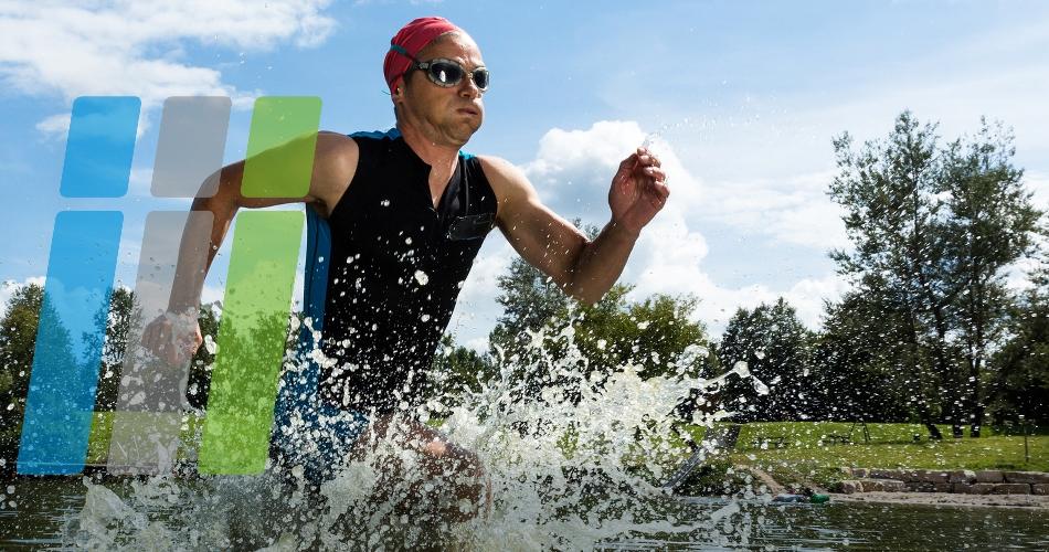 Extremes Niedrigwasser: Absage Schwimmen!