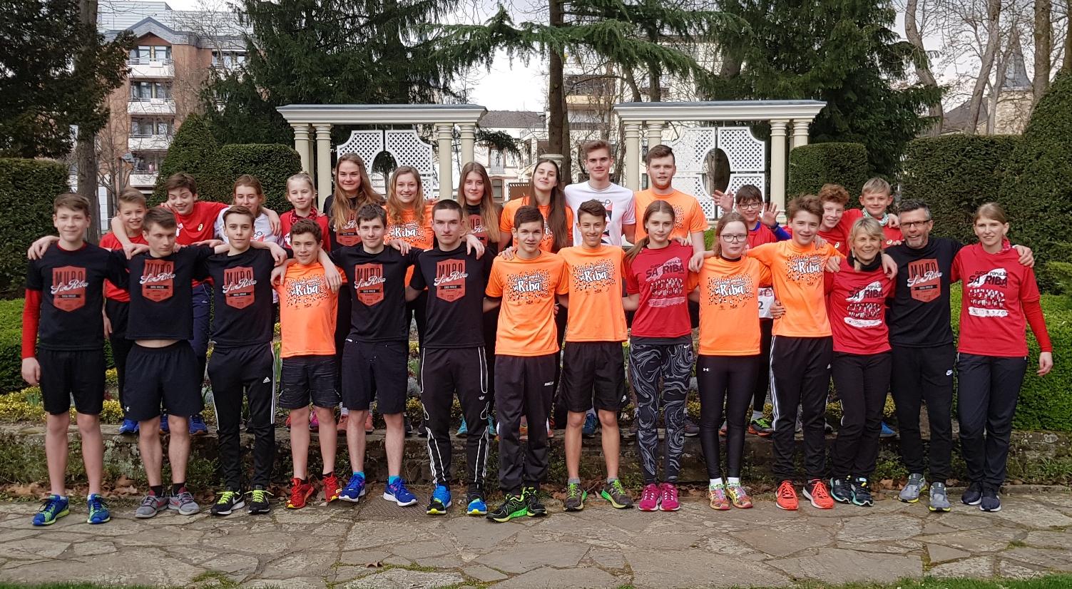 Kaderathleten erfolgreich in der Marathonstaffel