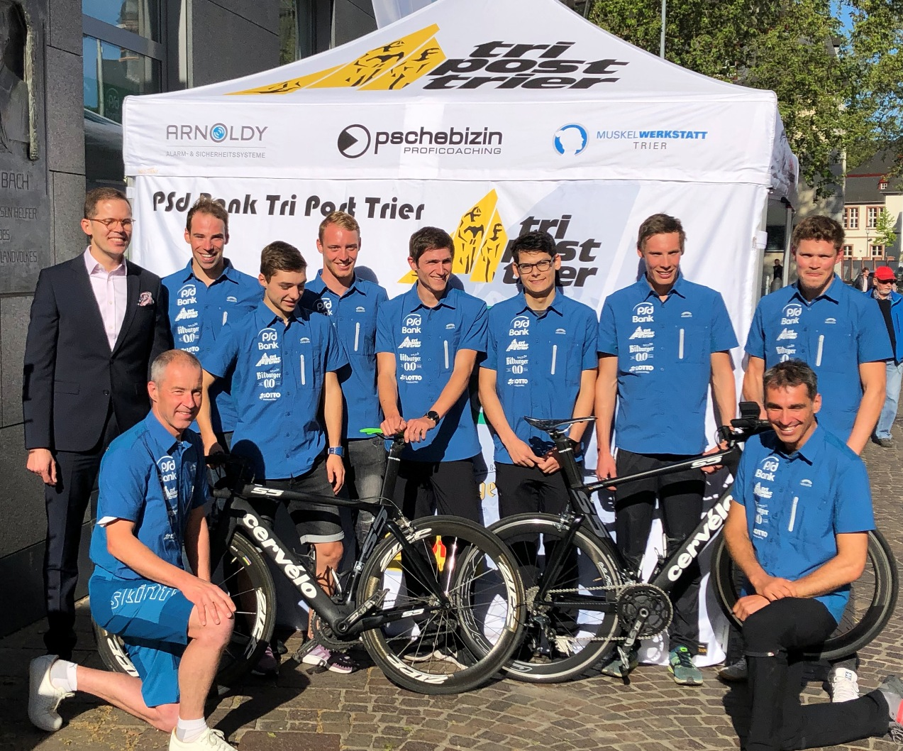 PSD Bank Tri Post Trier Teampräsentation