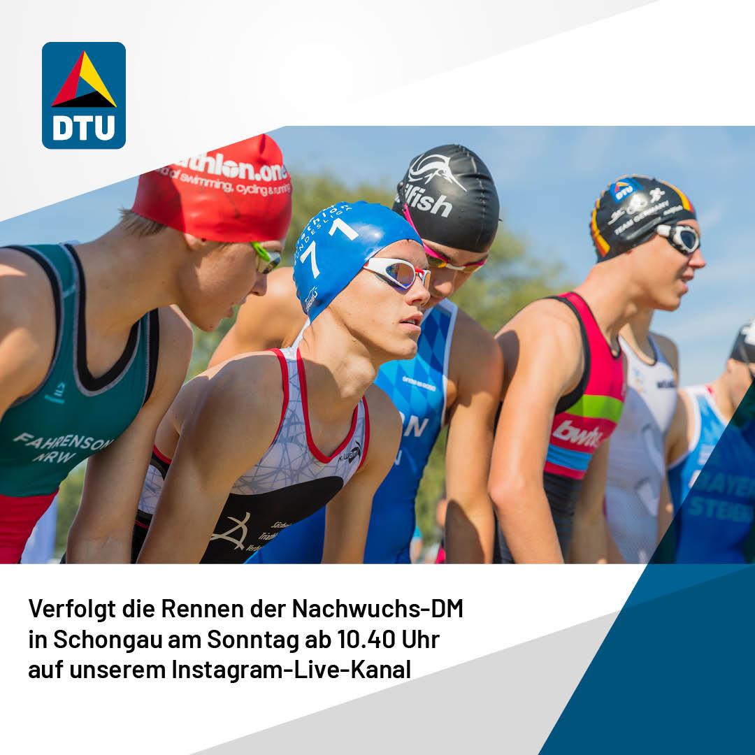 Deutsche Meisterschaft Nachwuchs im Livestream