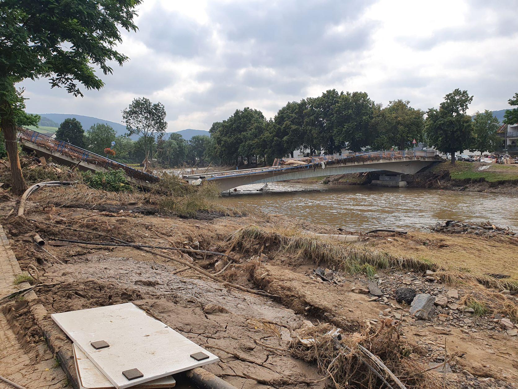 Hochwasserkatastrophe in Rheinland-Pfalz