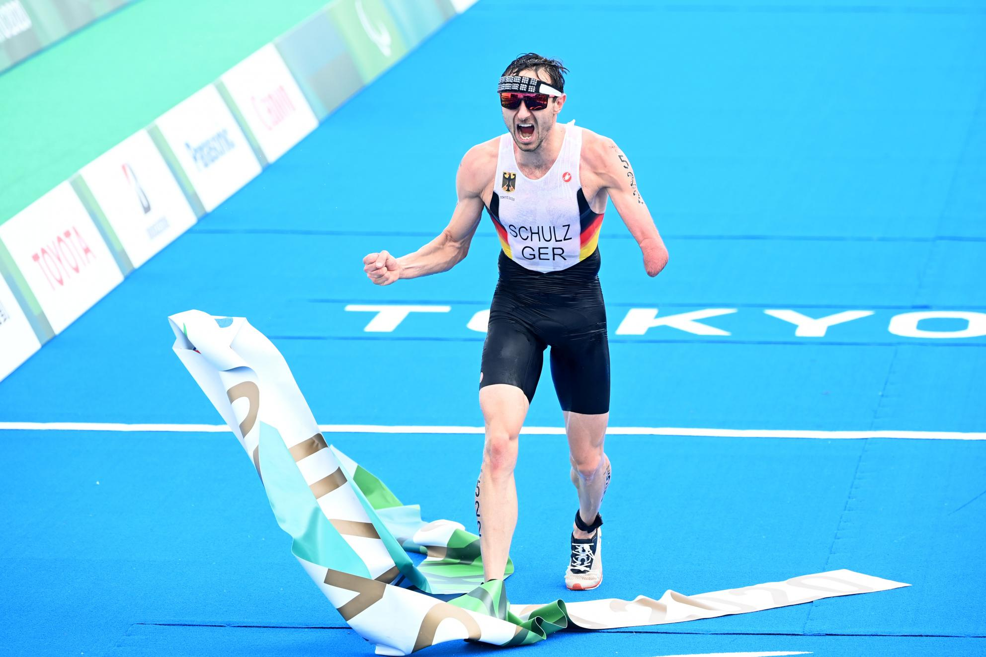 Martin Schulz gewinnt Paralympics-Gold im Triathlon